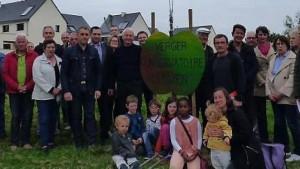 Image de l'article 'Au verger-conservatoire, 47 arbres ont été plantés'