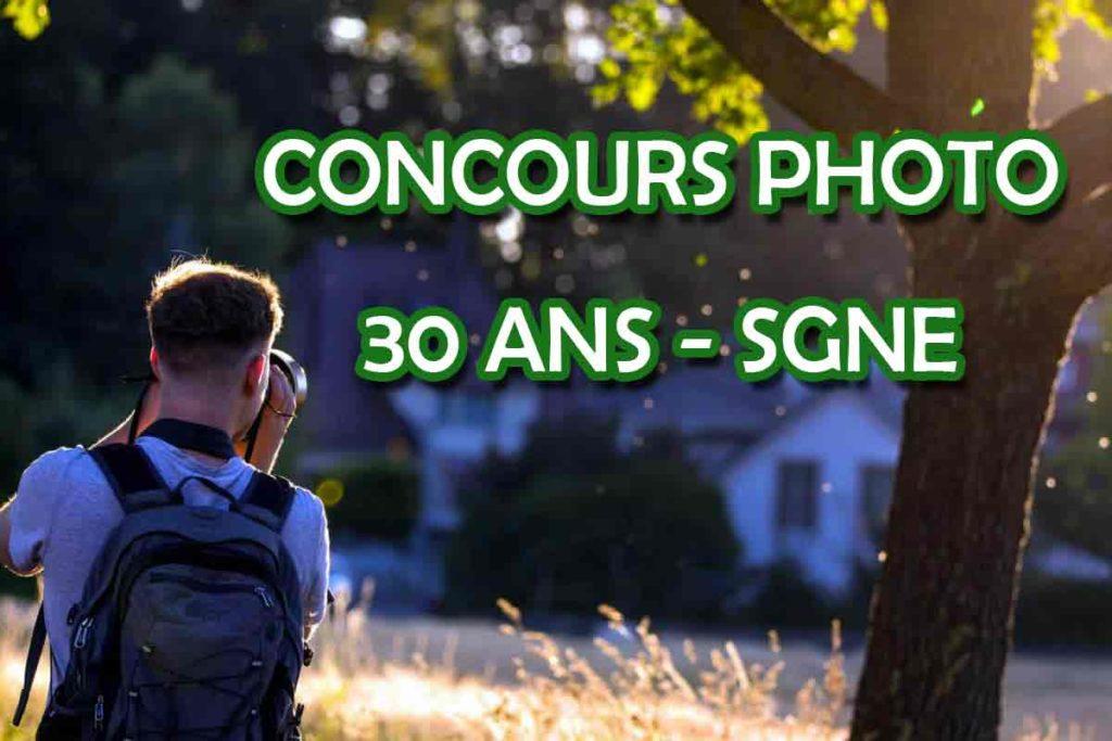 Concours photo des 30 ans de l'association